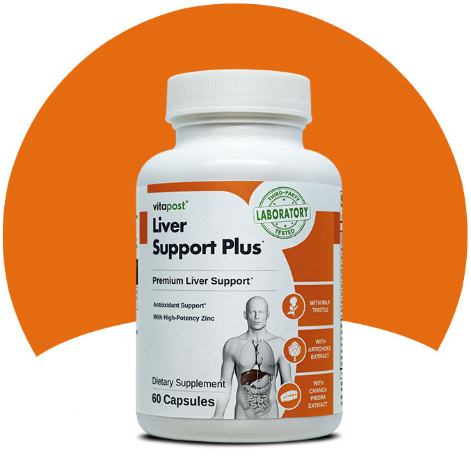 Clear bottle image of Liver Support Plus, manufactured by Vita Balance