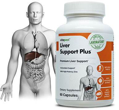 Liver Support Plus includes natural herbal extracts for the liver