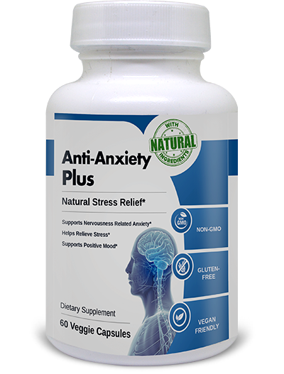 Anti Anxiety Plus helps to fight against depression