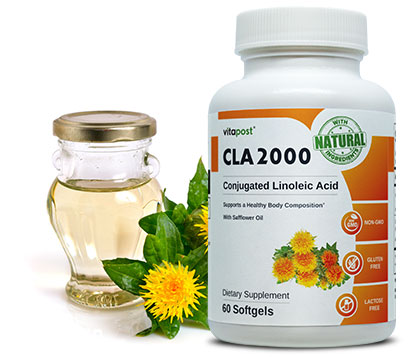 Safflower Oil & CLA 2000 bottle