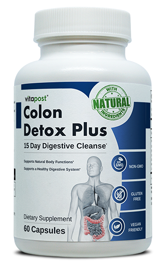 Colon Detox Plus includes natural ingredients