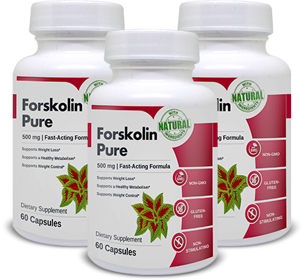Forskolin Pure made with natural ingredients