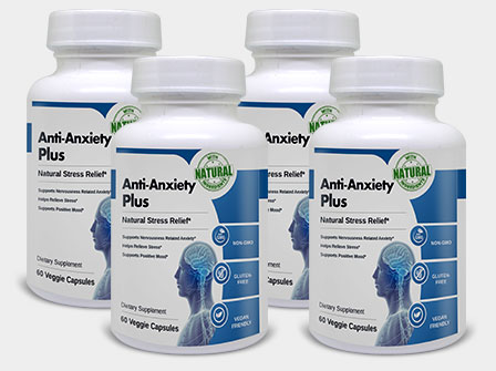 Anti Anxiety Plus helps to elevate mood