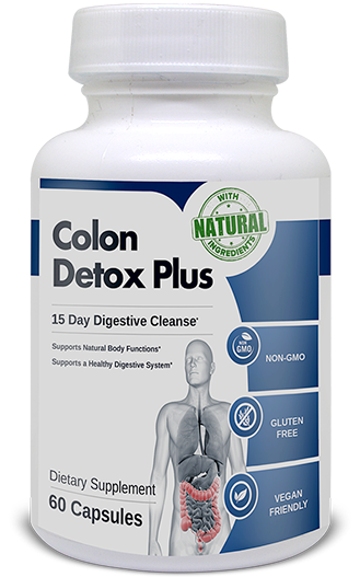 Colon Detox Plus made with 100% natural ingredients