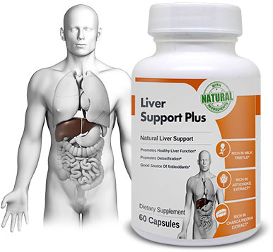 LiverSupportPlus made from 100% natural ingredients