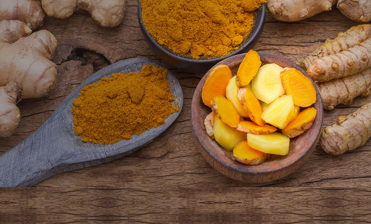 Banner Image of Turmeric and Ginger Powder & Root
