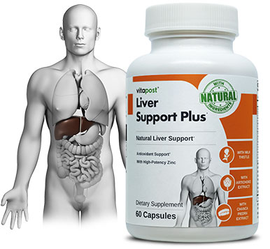 LiverSupportPlus includes natural herbal extracts for the liver