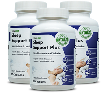 Big image of Sleep Support Plus capsules bottle