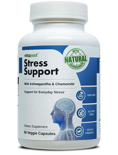 stress support helps to fight against depression