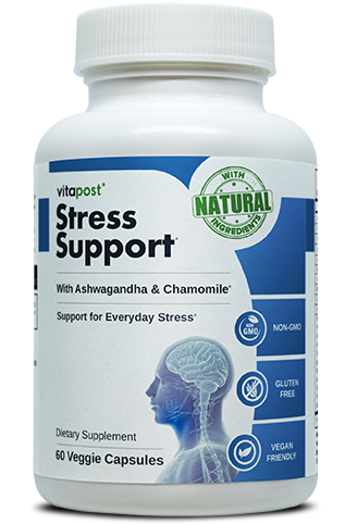 Dietary supplement stress support helps to reduce stress